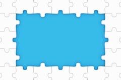 Parties de puzzle Photographie stock libre de droits