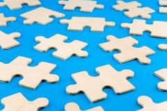 Parties de puzzle images stock