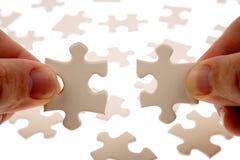Parties de puzzle Image libre de droits