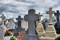 Parties du cimetière Images stock