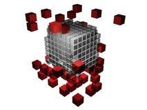 Parties manquantes du puzzle Photo stock