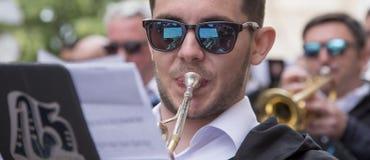 Partiet utan musiker är inte partiet Royaltyfria Foton