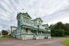 Partihus på Marstrand, Sverige Arkivfoto