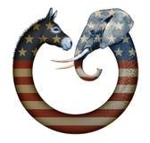 Partii Politycznych zwierzęta Zdjęcia Stock