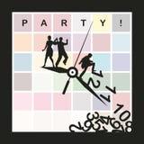 Partij royalty-vrije illustratie
