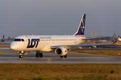 PARTIJ Embraer Stock Foto
