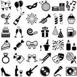 Partij en viering vector illustratie