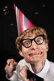 Partij nerd Stock Foto