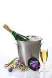 Partij op nieuwe jarenvooravond Stock Fotografie