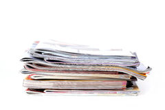 Partij tijdschriften stock fotografie