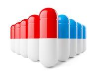 Partij van capsules Royalty-vrije Stock Afbeelding