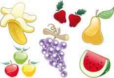 Partij van Fruit Stock Afbeelding
