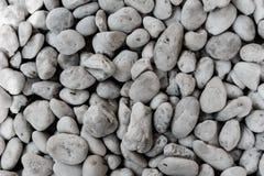 Partij van kiezelstenen rond, grote steen royalty-vrije stock foto's
