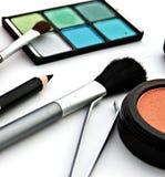 Partij van make-up voor het gezicht Royalty-vrije Stock Afbeeldingen