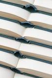Partij van open boeken Stock Foto's