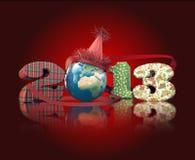 partij wereldwijd in nieuwe jaarvooravond Stock Illustratie