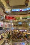 Partij 10 Winkelend Centrum Stock Afbeelding