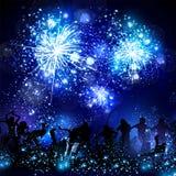 Partijachtergrond, disco, dans, gemakkelijke scène editable allen Royalty-vrije Stock Foto
