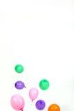 Partijballons en linten Royalty-vrije Stock Afbeeldingen