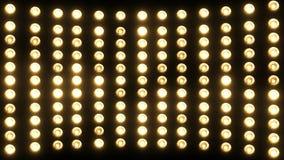 Partijlichten (opvlammende lampen) (+100 stuk) stock footage