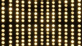 Partijlichten (opvlammende lampen) (+100 stuk) stock video