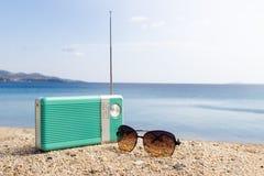 Partijtijd op het strand Royalty-vrije Stock Afbeeldingen