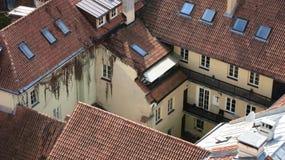 Partikel altes Vilnius Stockfotos