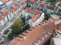 Partikel altes Vilnius Lizenzfreie Stockfotos