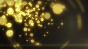 Partikel, die in die Luft (Schleife, fliegen) stock footage