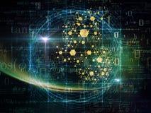 Partikel-Glühen Lizenzfreies Stockfoto