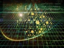 Partikel-Glühen Lizenzfreie Stockfotografie