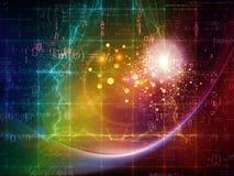Partikel-Technologien Stockfotografie