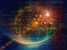 Partikel-Technologien Stockfotos