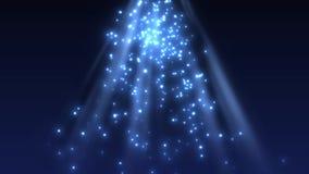 Partikel und funkelndes sonniges Licht vektor abbildung