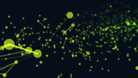 Partikelverbindung stock abbildung