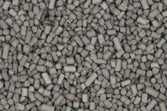 Partiklar av aktiverad bakgrund för kolsvart Arkivfoto