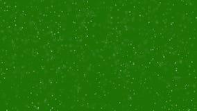 Partiklar greenscreen på