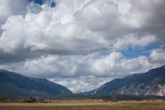 Partilha continental de Colorado imagens de stock royalty free