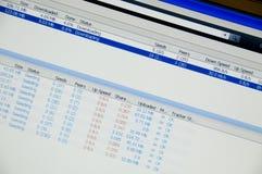 Partilha de ficheiros Foto de Stock
