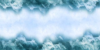Parting wave background Royalty Free Stock Photos