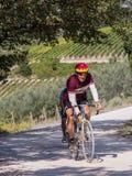 Partipants non identifiés de L'Eroica, Italie Photos stock