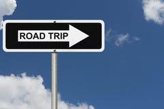 Partir en voyage par la route Images stock
