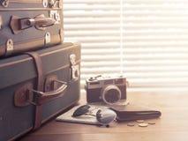 Partir pour des vacances photo stock