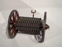 A partire dai periodi medievali inventati arma micidiale del cannone fotografia stock libera da diritti