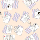 A partire dalla durata delle carte da gioco royalty illustrazione gratis