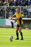 Partita amichevole 2010 di rugby: L'Italia contro l'Australia Fotografia Stock Libera da Diritti