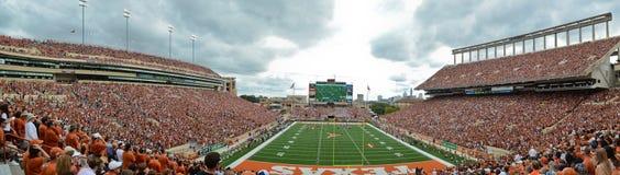 Partita di football americano dell'istituto universitario di Texas Longhorns fotografia stock libera da diritti