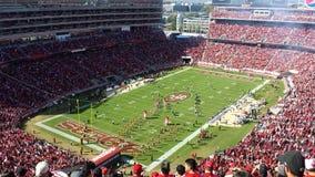 Partita di football americano 2 di SF 49ER Fotografia Stock