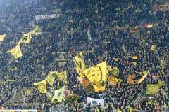 Partita di lega di europa dell'UEFA fra il Borussia Dortmund contro il PAOK Fotografie Stock