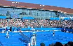 Partita di tennis di Australian Open Fotografia Stock